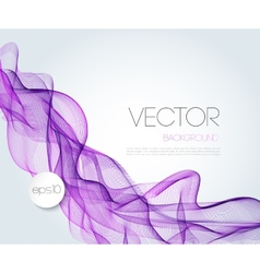 Abstract wave template background brochure design vector