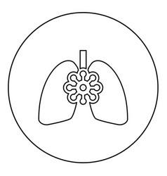 Coronavirus damaged lungs virus corona atack vector