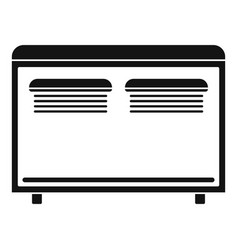 Home equipment for heating icon simple style vector