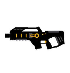laser tag gun game icon laser tag vector image