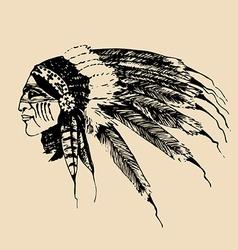 Native american design elements vector image vector image