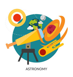 Space astronomy image vector