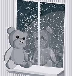 teddy3 vector image