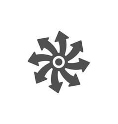 Versatile icon multifunction sign vector