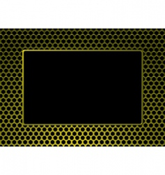 decorative picture frame vector image vector image