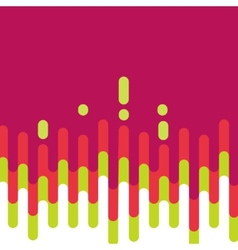 Abstract colorful curve background design vector image vector image