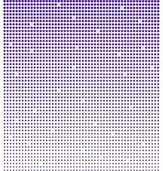 Blue halftone background vector image