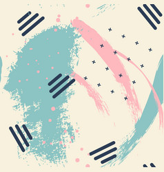 abstract creative green pink pattern with vector image