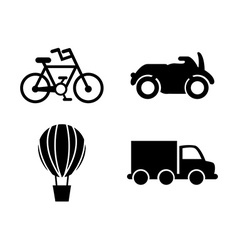conveyance icon vector image