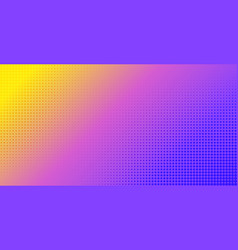 gradient halftone abstract background vector image