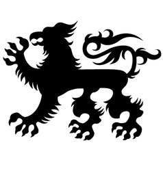 Griffins design vector