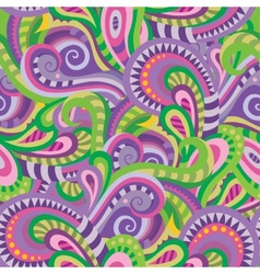 Seamless paisley pattern for design of gift packs vector image
