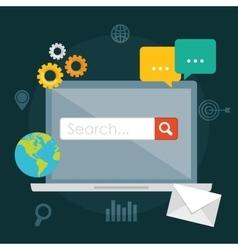 Search Engine Optimization design vector
