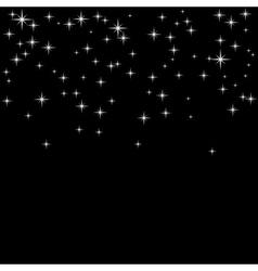 silver confetti background vector image