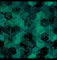 Texture military malachite green colors forest vector