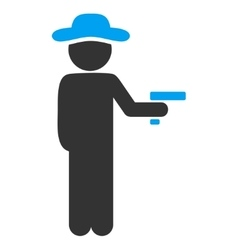 User Robber Icon vector