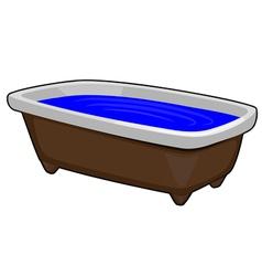 Image of Bath vector image vector image