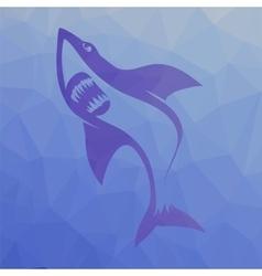 Big Shark Symbol vector image