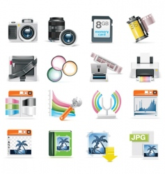 Photography icon vector