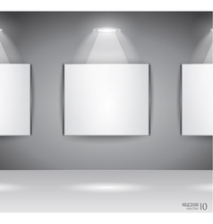 showroom panel vector image