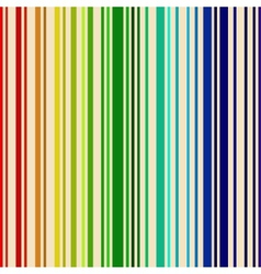 Rainbow colored barcode background vector image vector image