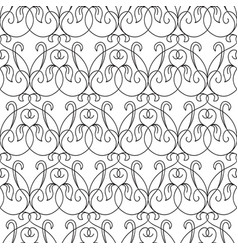 abstract elegant seamless pattern vector image