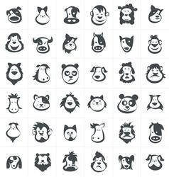 Cartoon Farm Animal Mask Vector Images (over 110)
