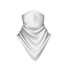 bandana realistic icon vector image