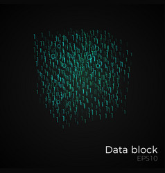 Data block vector