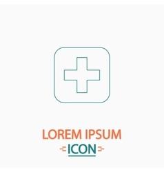 Medicine computer symbol vector