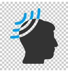 Radio Reception Head Icon vector image