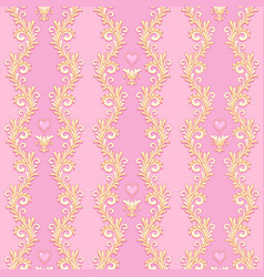 Royal pink pattern vector