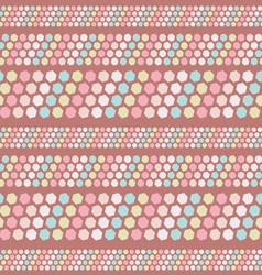 seamless pastel pattern vector image