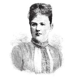 Sophia of nassau vintage vector