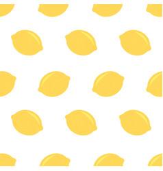 fresh lemons background hand drawn icons doodle vector image