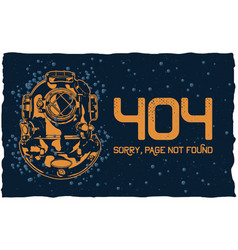 404 page not found concept vector image
