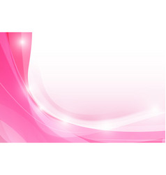 Abstract pink background with simply curve vector