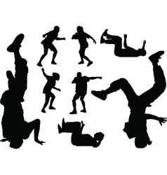 Breakdance - vector