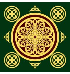 Christian orthodox pattern vector