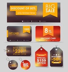 Corporate identity design for sale vector image