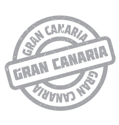 Gran canaria rubber stamp vector