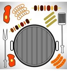 Grill Icon vector image