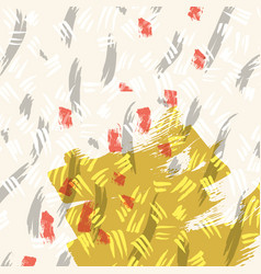 Hand drawn creative card vector