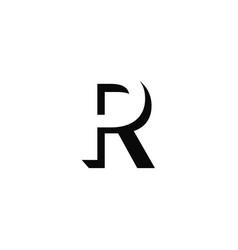 Pr logo monogram vector