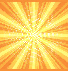 Retro starburst background vector