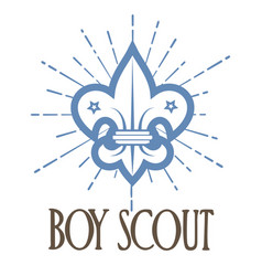 Scout sign - boy scout vector