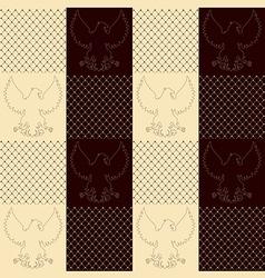 texture eagle2 vector image