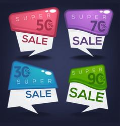 Super sale collection of bright discount bubble vector
