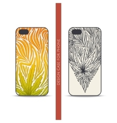 Design Case for Phone Three vector image vector image