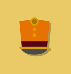 magic hat in sticker style vector image vector image